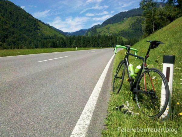 Eine 378km Tagestour auf ein wohlverdientes Eis…