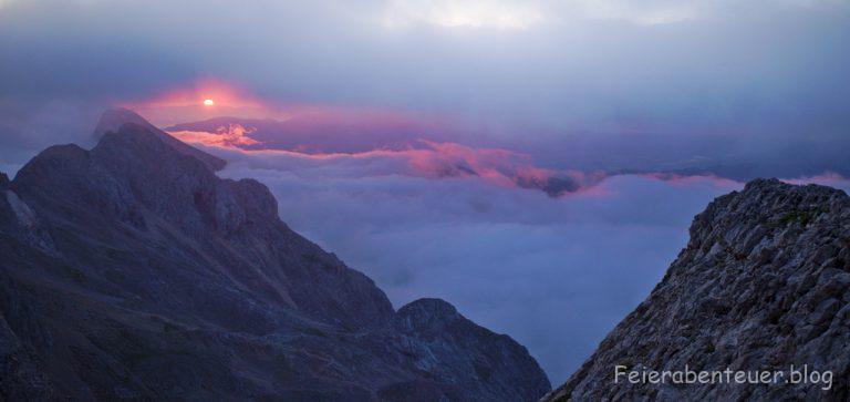 Sonnenaufgang am Triglav