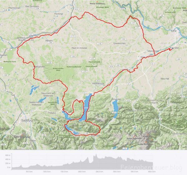 Reinschnuppern in die Welt der Langdistanzen beim 400km Brevet in Haid
