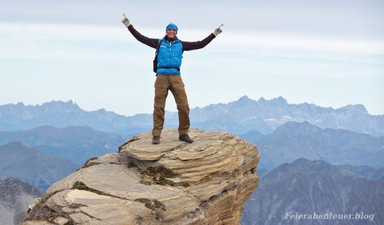 Kurz gesagt unternehmungslustig: Zu Fuß erreichte Gipfel und Pässe im Jahr 2019