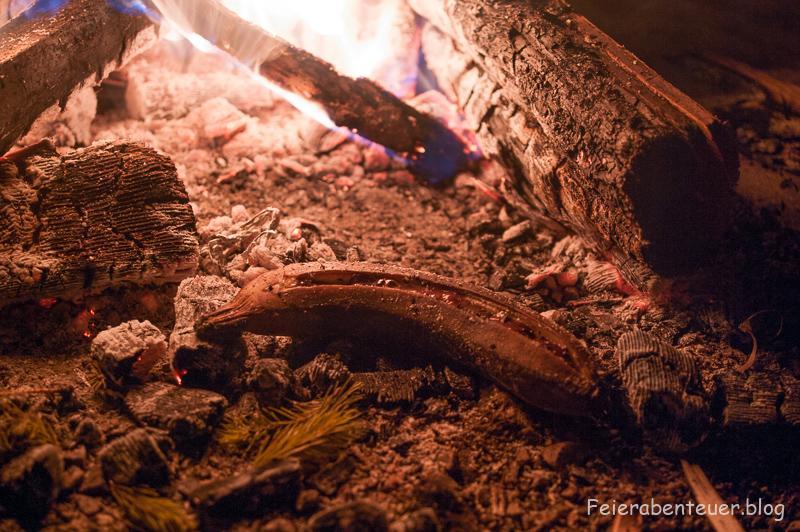 Lagerfeuerrezept: Schokobanane