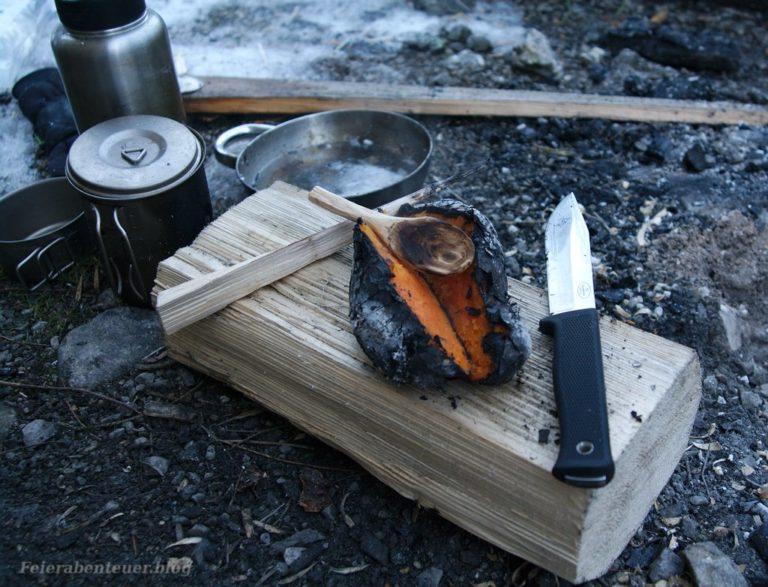 Lagerfeuerrezept: Süßkartoffel aus der Glut