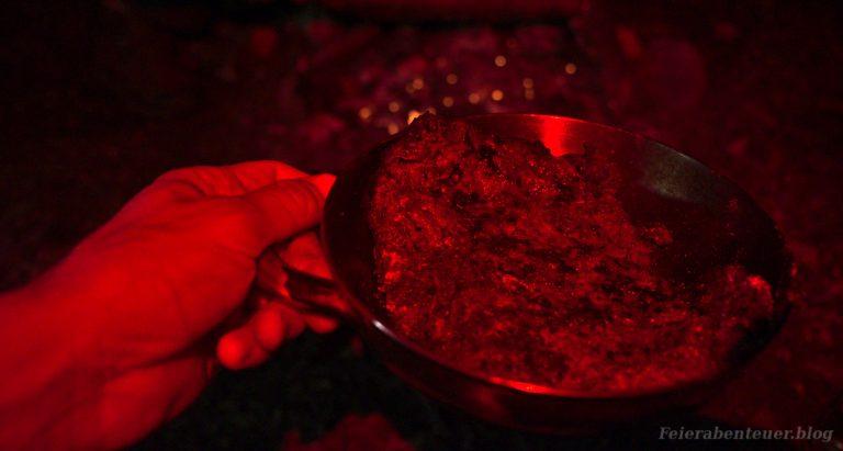 Lagerfeuerrezept: Ein Steak vom Lagerfeuer