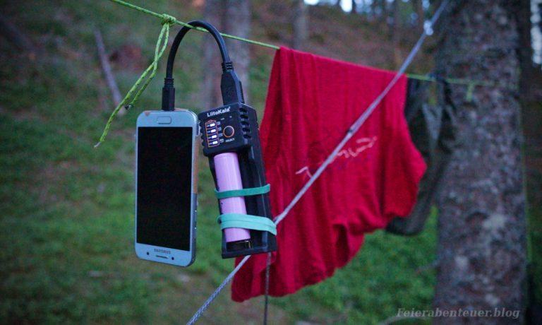 Eine einfache und leichte Lösung für die Stromversorgung auf Weitwanderungen